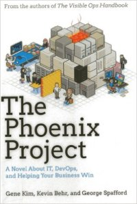 Phoneix project book cover